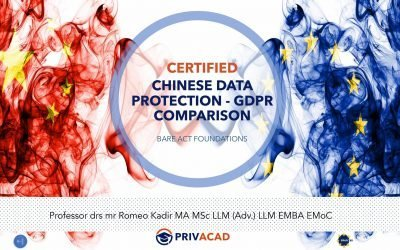 Certified Chinese Data Protection – GDPR Comparison