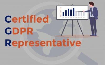 Certified GDPR Representative