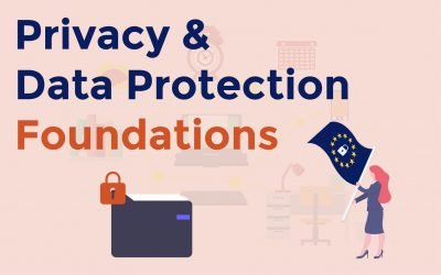 Privacy and Data Protection Foundations