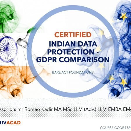 Certified Indian Data Protection – GDPR Comparison