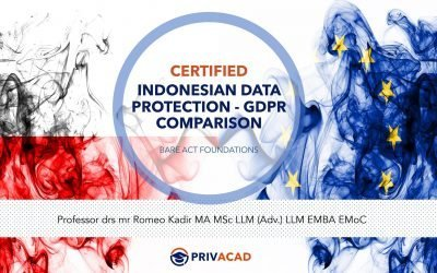 Certified Indonesian Data Protection – GDPR  Comparison
