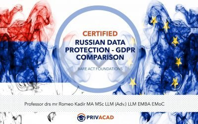 Certified Russian Data Protection – GDPR Comparison