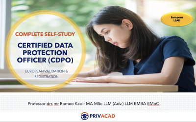 Certified Data Protection Officer (CDPO) Complete Self-Study