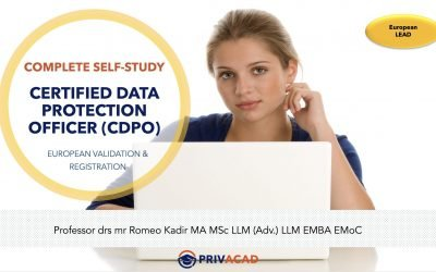 EU Complete Self-Study Registered Data Protection Officer (EIPACC RDPO)