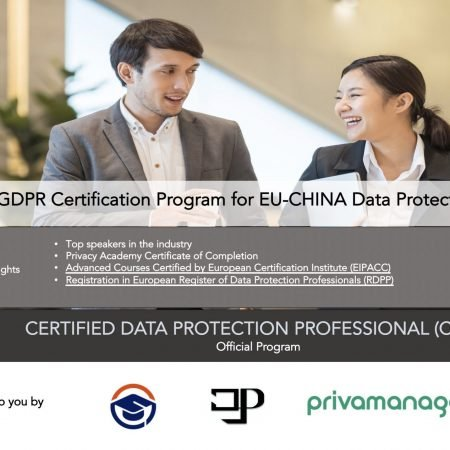 Registered Data Protection Professional (RDPP) EU-CHINA Data Protection