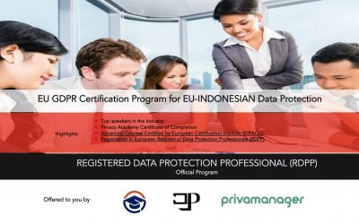 Indonesia Registered Data Protection Professional (RDPP) EU-INDONESIA Data Protection Copy