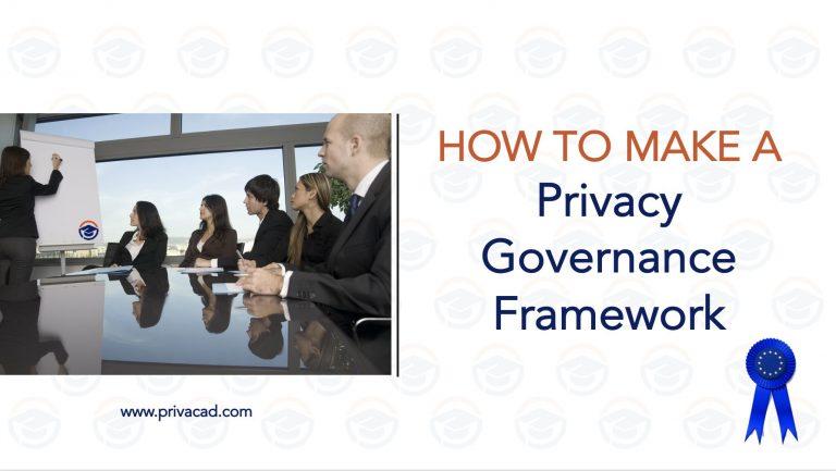 1 10M Privacy Governance Framework
